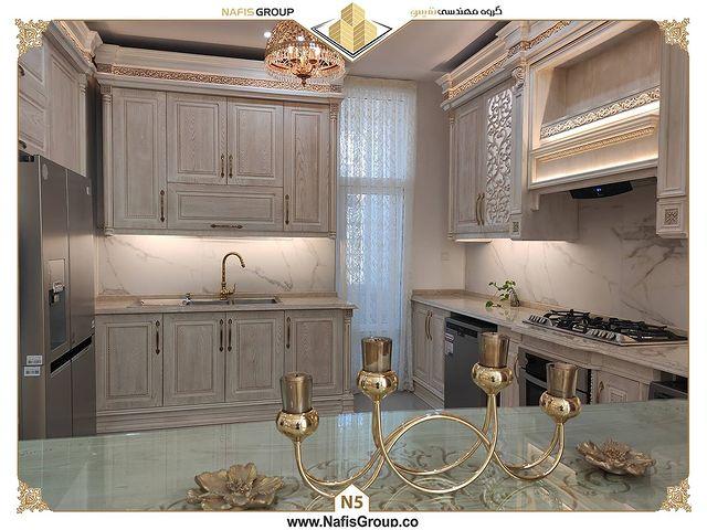 پذیرایی و آشپزخانه